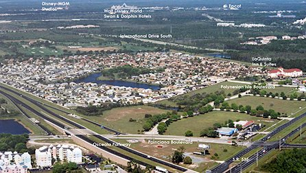 Indian Wells kissimmee aerial photograph 1